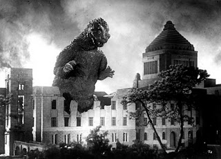 Godzilla takes down small town